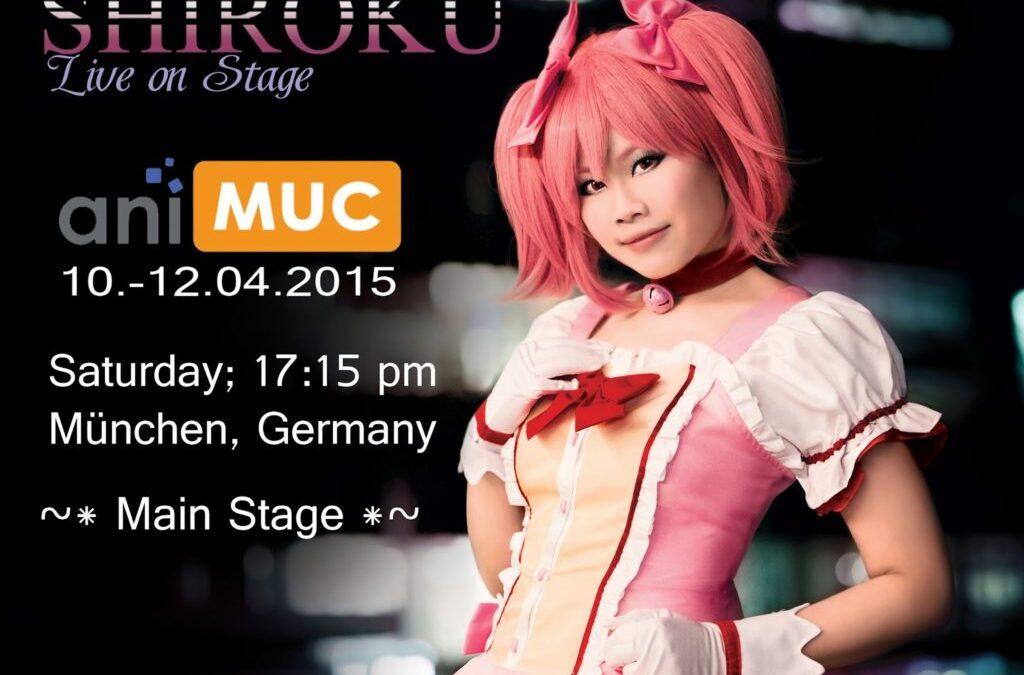 Shiroku live at AniMUC