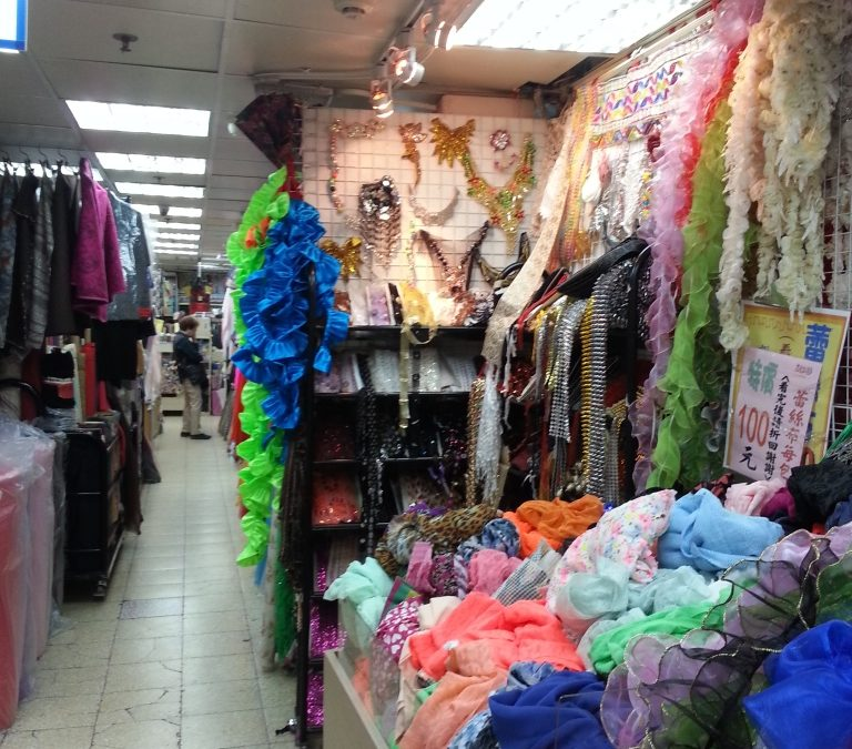 Shopping for Cosplay part 1: Shopping in Taipei