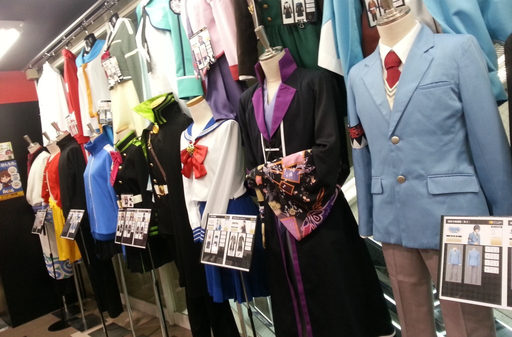 Shopping guide for Cosplay Tokyo Part 2 Cosplays, Cosplaygoods and wigs