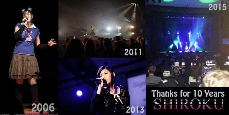 Thank you for 10 years Shiroku !!!