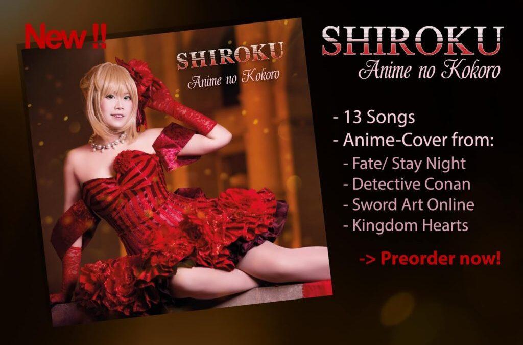 "My New Album ""Anime No Kokoro"""